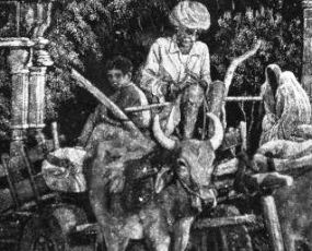 J Denison-Pender - Oxcart at Narlai